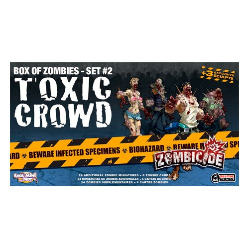 Edge Entertainment Toxic Crowd, expansión para Zombicide (ZG15)