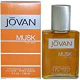 Jovan Musk Men After Shave Cologne by Jovan, 4 Ounce by Jovan