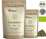 Fenchelsamen BIO süß ganz (500g) | Fenchel Samen | Fencheltee | als Gewürz oder Fenchel Anis Kümmel Tee