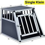 Delman Alu Hundetransportbox stabile Ellipsenrohren als Gitter Single Klein 10-2001