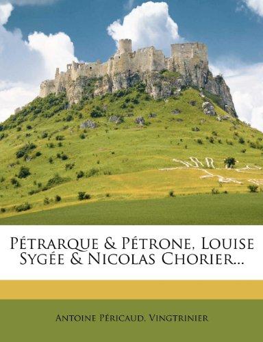 P Trarque & P Trone, Louise Syg E & Nicolas Chorier...