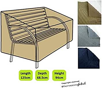 HomeStore Global Bench Cover in Brown   Thick   Durable high quality 600D  Polyester. Amazon co uk  Homestore Global or eTree uk ltd   Benches   Garden