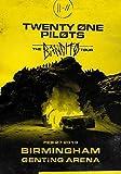 Desconocido Twenty One Pilots Gabardina Birmingham Genting Arena 2019 el Bandito Tour Póster Foto Tyler Josh Mono Estresado out 033 (A5-A4-A3) - A5