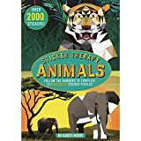 Sticker Therapy Animals: Follow the Numbers to Complete 12 Meditative Sticker Puzzles (Advanced Sticker Book)