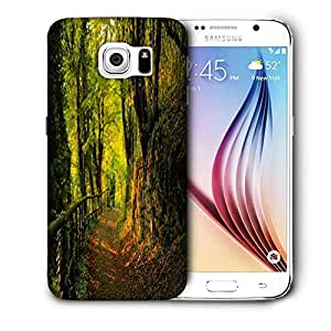 Snoogg Forest Way Printed Protective Phone Back Case Cover For Samsung Galaxy S6 / S IIIIII