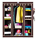 #5: CbeeSo 10 Racks High Capacity Metal Frame Foldable Wardrob (CB360-BR) EXTRA SPECIAL OFF....