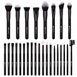 DUcare Make-up Pinsel , 27 Stück SE Serie Make-up Pinsel Set Professionelles Gesichtspuder Foundation Blending Contour Lidschatten Eyeliner Make-Up Pinsel-Kit - Schwarz