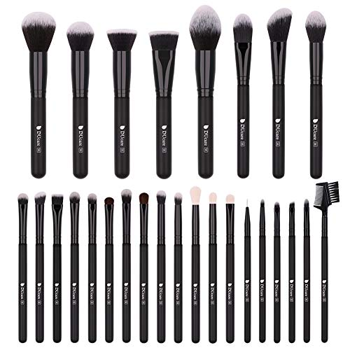 DUcare Make-up Pinsel , 27 Stück SE Serie Make-up Pinsel Set Professionelles Gesichtspuder...