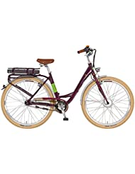 """Prophete Femme vélo électrique E-bike 28""""Navigator Flair, aubergine, 50, 52116-0111"""