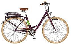 Prophete Damen Elektrofahrrad E-Bike 28 Zoll Navigator Flair aubergine, 50