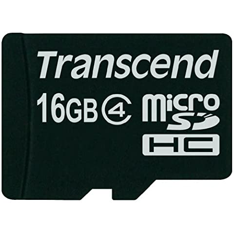 Transcend - Carte Mémoire Micro Sd Samsung Galaxy J3 2016 - 16Go
