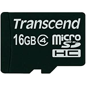 Transcend - Carte Mémoire Micro Sd Lg G4 - 16Go