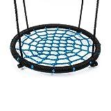 Rutschen & Schaukeln IBUYTOP Schaukel Set Zubehör Untertasse Spinner Swing Einfach auf Schaukel Set oder Baum Polyethylen Seil mit Stahlrahmen 24