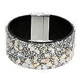 Armbänder Armreif Damen Ketten Stein und Diamant Perlen Perlen Armband Fashion Wild Damen schmuck Helles Armband Geschenk für Paare Freundschaftsarmband