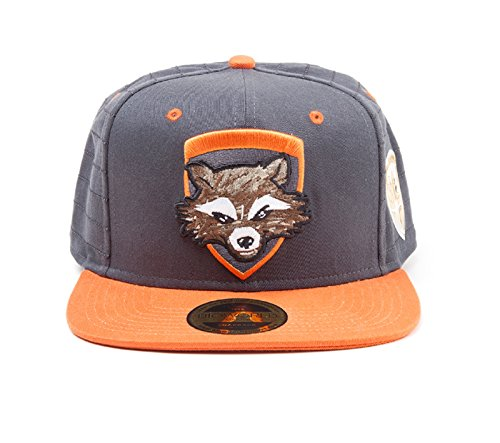Preisvergleich Produktbild Guardians Of The Galaxy 2 Baseball Cap Rocket badge Nue offiziell snapback