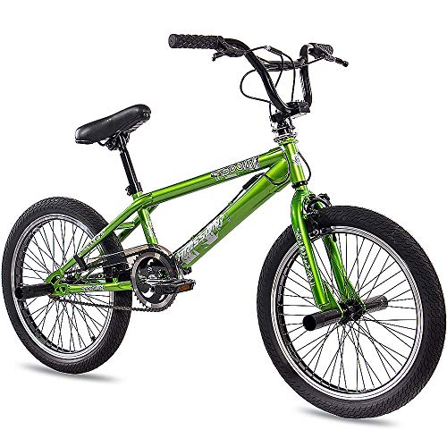 "KCP 20"" BMX Kids Bike Bicycle Doom 360 Rotor Freestyle Green (g) - 50,8 cm (20 Inch)"
