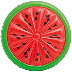 Intex - Colchoneta hinchable con forma de sandía, 183 x 23 cm (56283EU)