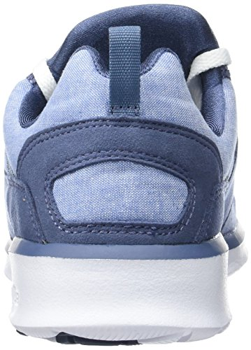 DC Shoes Heathrow Se, Baskets Basses Femme Bleu (Navy/White)