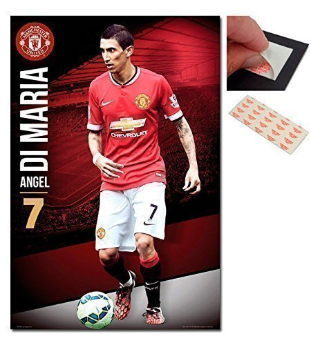 bundle-2-items-manchester-united-angel-di-maria-poster-915-x-61cms-36-x-24-inches-and-a-set-of-4-rep