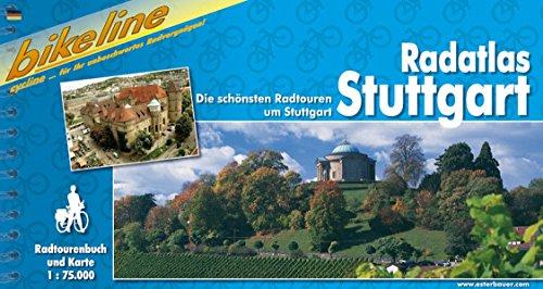 Radatlas Stuttgart - Die schönsten Radtouren rund um Stuttgart: Die schönsten Radtouren rund um Stuttgart, 1 : 75 000, wetterfest/reißfest, GPS-Tracks Download -