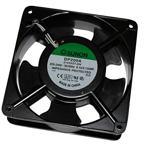 Fan / Ventilateur 230V 22W 120x120x38mm 161m³/h 44dBA ; Sunon DP200A2123XST