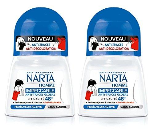 Narta Narta narta - male bille deodorant anti-transpirant 48h impeccable effizienz - 50 ml - set aus 2