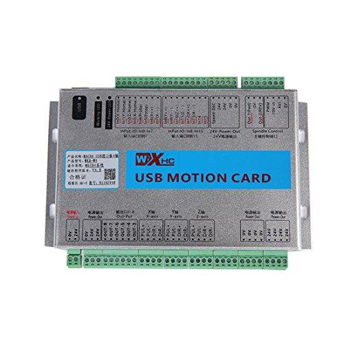 KEHUASHINA Controlador CNC 3/4/6 Axis Tarjeta de Control USB Tarjeta de  Control de Movimiento ethernet aplicación para MACH4 Nuevas Versiones