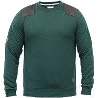Felpa Da Uomo D-code Imbottito Top Tweed Toppe Pullover Girocollo Casual Nuovo 132