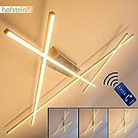 Deckenleuchte dimmbar – LED Lampe mit Fernbedienung zur freien Regelung der Lichtstimmung – Deckenlampe im warmweißen Licht – Wohnzimmerlampe – Esszimmerlampe – Küchenlampe