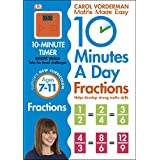 10 Minutes A Day. Fractions. Ages 7-11