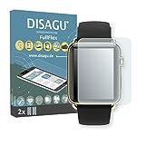 DISAGU 2 x FullFlex Pellicola Protettiva, Pellicola per Apple Watch 42mm (Series 3) Pellicola Proteggi-Schermo