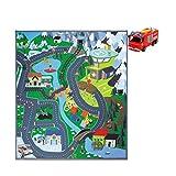 Dickie Toys 203096004 - Feuerwehrmann Sam Spielmatte