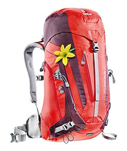 Imagen de deuter act trail  para montaña, mujer, rojo fire / aubergine , 28 l