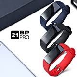 AUPALLA 21BP PRO Fitness Wristband Professional Blood Pressure Heart Rate Monitor Colourful Large