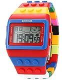 EASTPOLE LED Herrenuhr Damenuhr Armbanduhr Digital Sport Uhr LED090