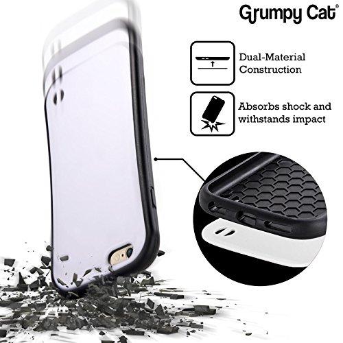 Offizielle Grumpy Cat No Zitate Hybrid Hülle für Apple iPhone 6 / 6s Weggehen