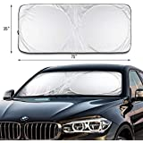 Likorlove Car Windshield Sunshade Jumbo (74 x 35)