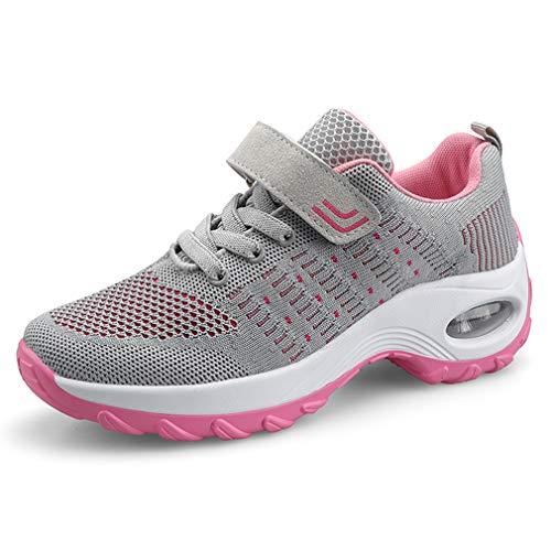 Donna Sneaker Scarpe Dimagranti Scarpe da Ginnastica Casual Tennis Piattaforma Running Sneakers Fitness Sportive Zeppa Outdoor Scarpe Passeggio