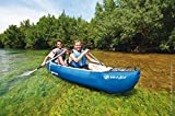Sevylor Kanu aufblasbar Adventure Kit - 2 Personen Faltkajak inkl. 2 Paddel, Fußpumpe, 314 x 88 cm - 4