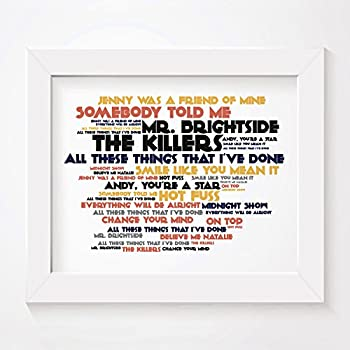 Cadence art print the killers hot fuss signed numbered compare with similar items stopboris Images