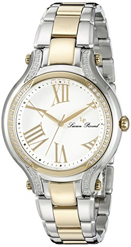 Lucien Piccard Womens Analogue Quartz Watch with Stainless Steel Strap LP-16353-SG-22
