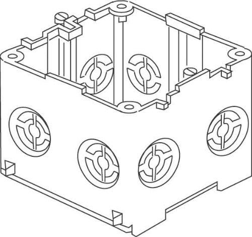 Kleinhuis Geräteeinbaudose Brüstungskanal KED65