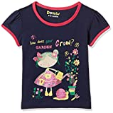#6: Donuts Baby Girls' T-Shirt (269783239 NAVY 12M HS)