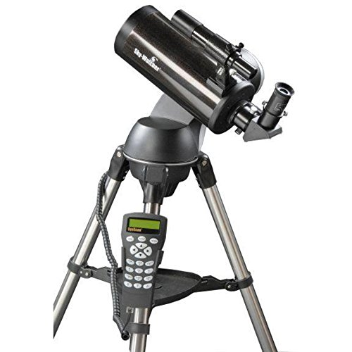 Skywatcher 127/1500 SynScan AZ GOTO Maskutov-Cassegrains Telescopio (127 mm, f/1500), color negro