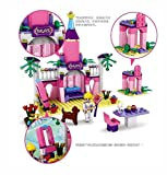 #8: Zaid Collectiond COGO Girls Blocks Princess Castle Toys for Girls Building Blocks Bricks Toys Birthday Gift for Kids 178 pcs