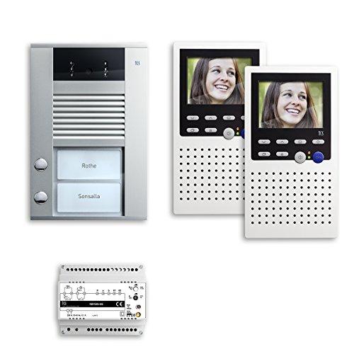 TCS videopack Color Freisprechen 2 Tasten A, PVE1420-0010