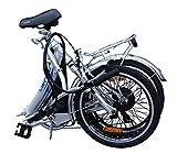 20 Zoll SWEMO Alu Klapp E-Bike / Pedelec SW200 Neu (Silber) -
