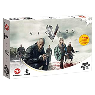 Puzzle Vikings The World Will be Ours Wikinger 500 Teile 48 x 34 cm
