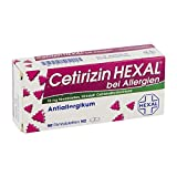 Cetirizin Hexal 10 mg Tabletten, 50 St.