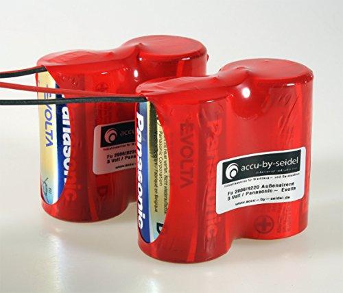 ABUS Security-Center Ersatzbatterie für 2WAY-Funk-Außensirene 3V Panasonic Evolta